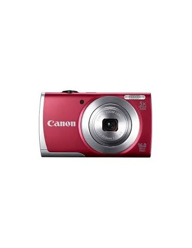 Canon Digital Compact Camera PowerShot A2500 Red