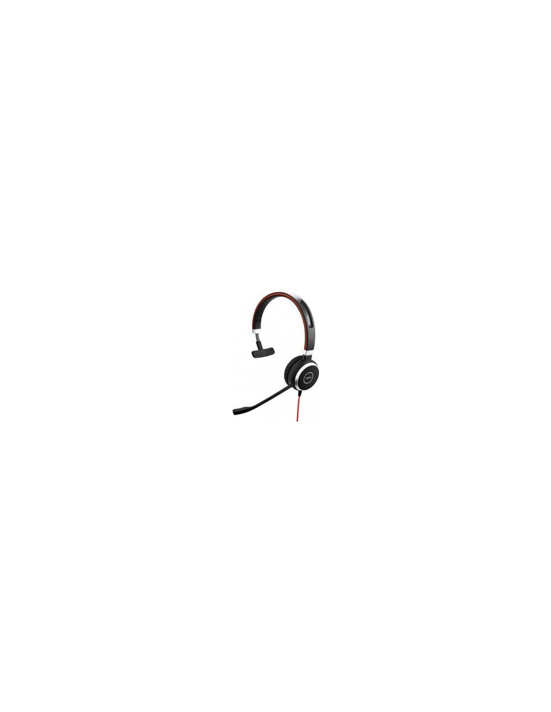 Jabra Evolve 65 Uc Mono Wireless Headset With Jabra Link: Jabra EVOLVE 65 MS Mono USB Headband