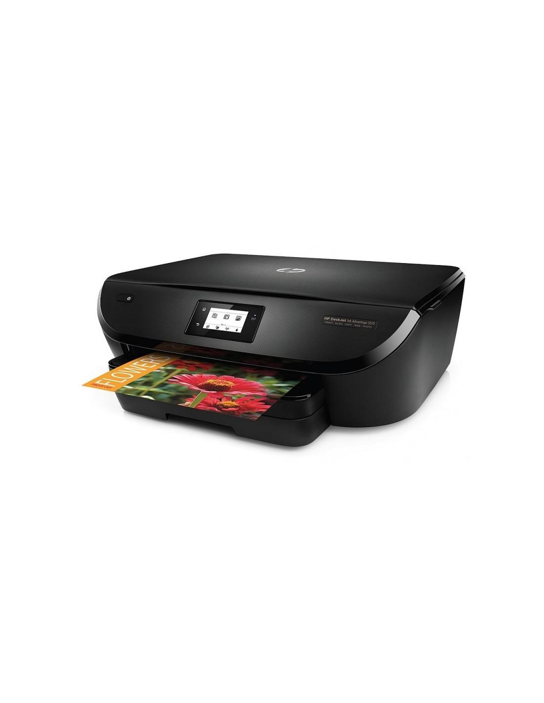 imprimante tout en un hp deskjet ink advantage 5575 g0v48c. Black Bedroom Furniture Sets. Home Design Ideas