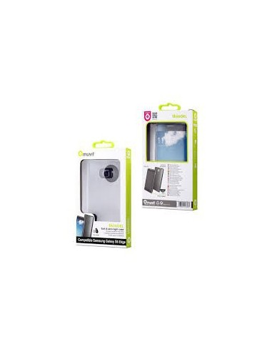 73a9a7f785d Funda Minigel Ultrafina Transparente Samsung Galaxy S6 Edge muvit
