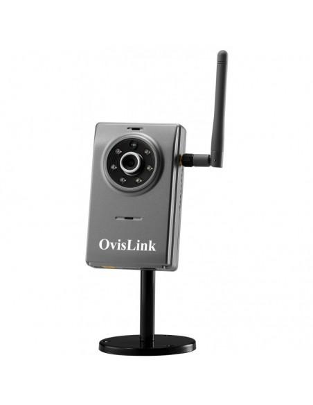 Caméra IP OvisLink fixe sans fil avec vision nocturne