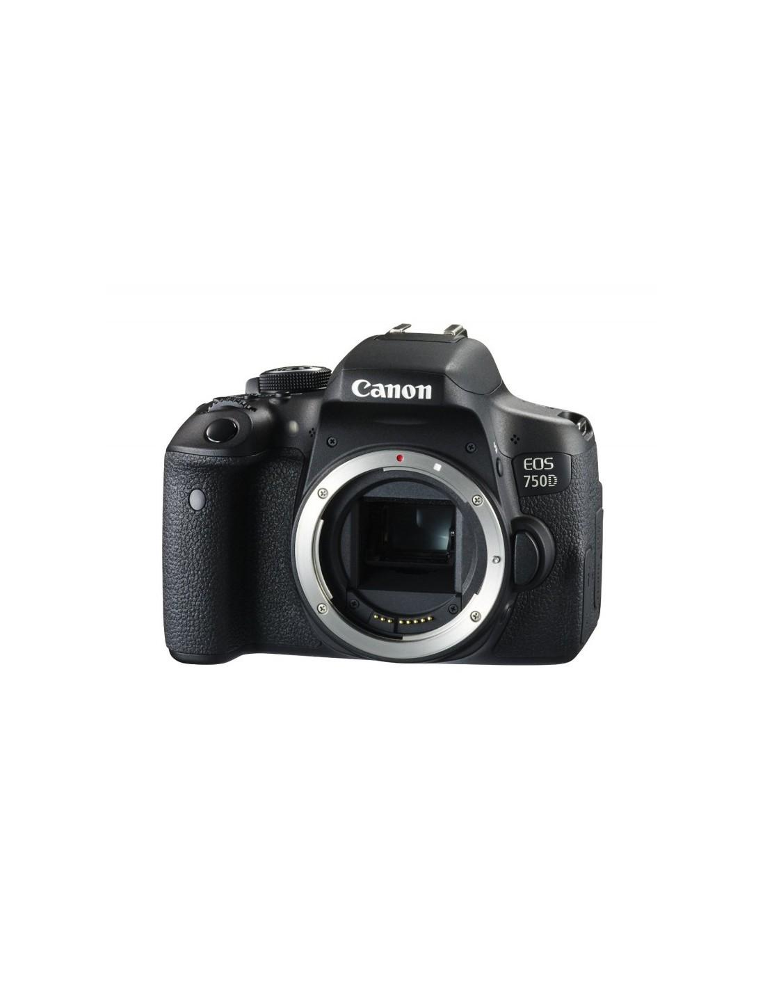 3d581769a2696 Reflex Canon EOS 750D Boîtier Nu