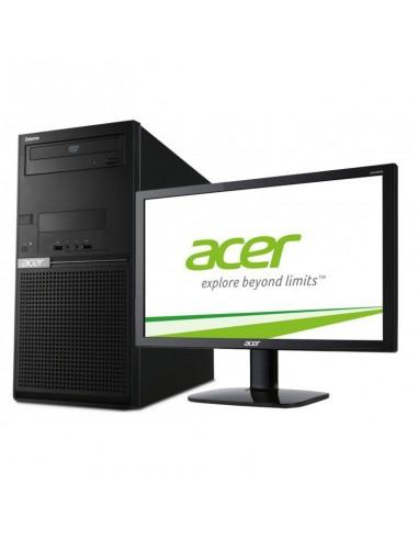 Pc De Bureau Acer Extensa Em2610 Acerem2610 I3 Avececran