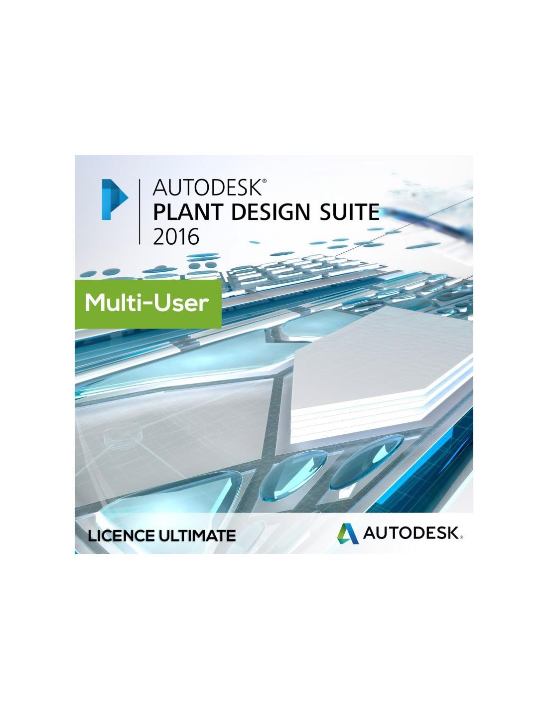 Autodesk Plant Design Suite Ultimate 2019 License