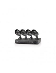Kit de surveillance 4 Cannaux CCTV